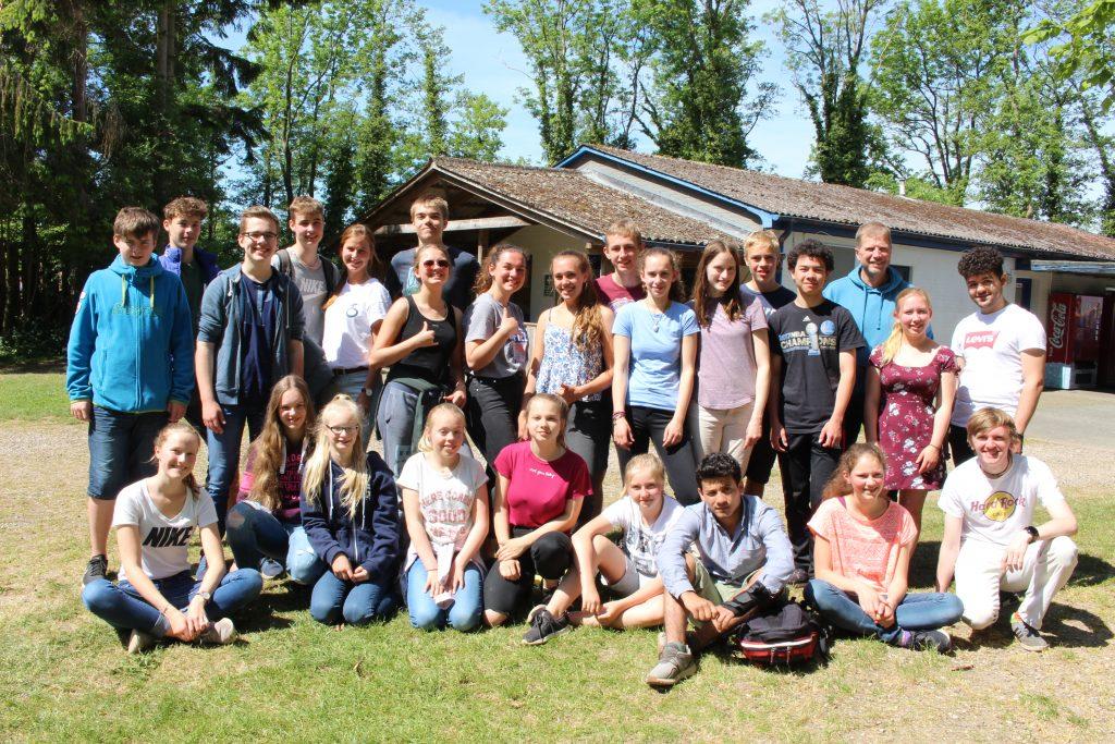 Unsere Gruppe in Bosau